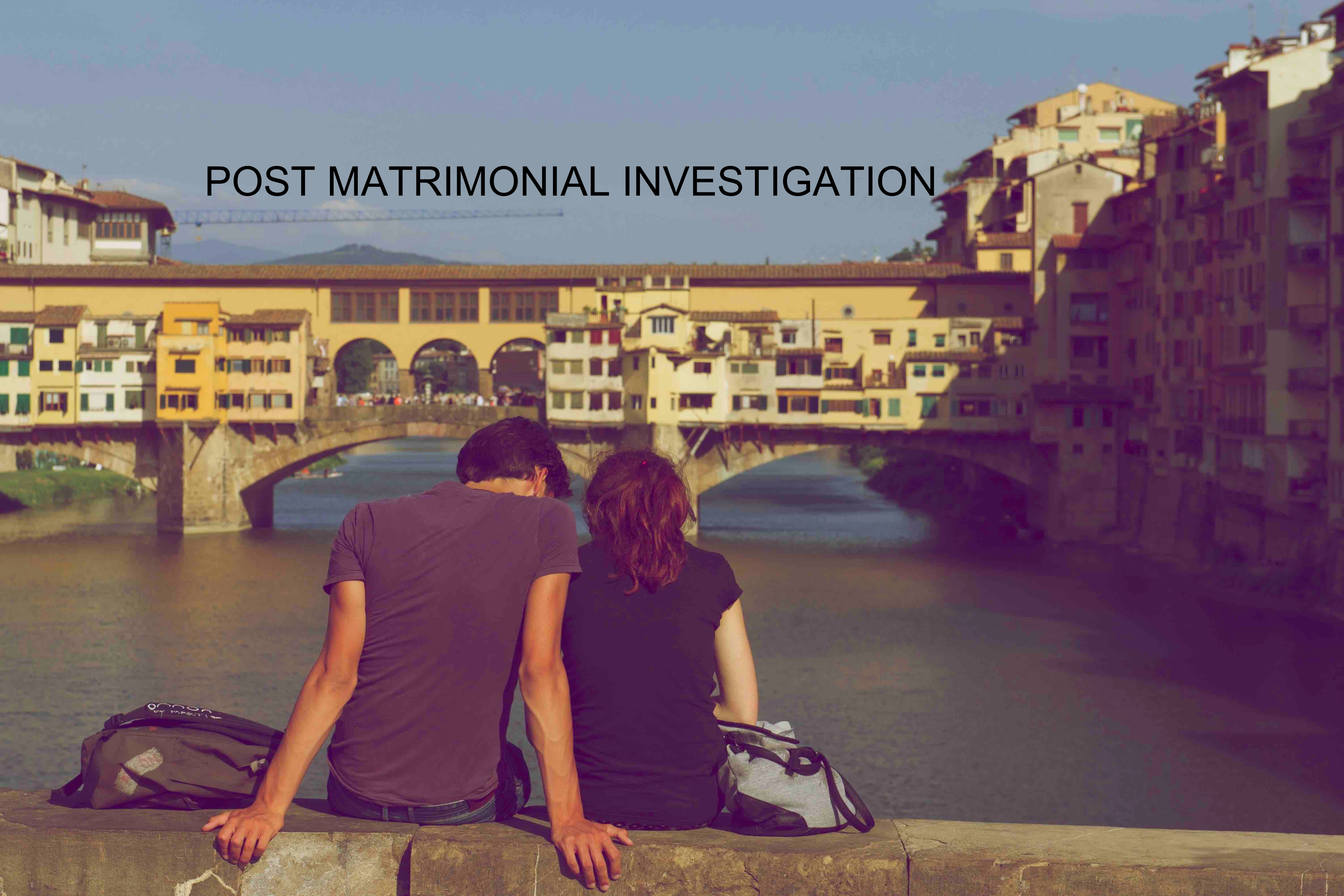 post matrimonial investigation